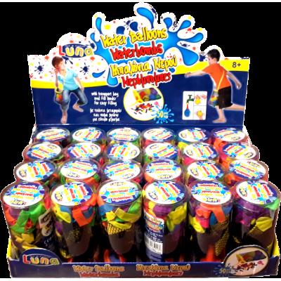 Μπαλόνια Νερού Σετ 50 τεμ + Δίχτυ
