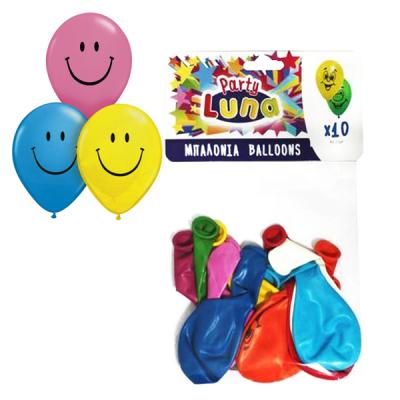 Μπαλόνια Smile 28cm 10τεμ